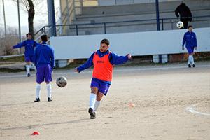 la técnica en el fútbol