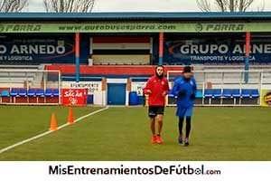 entrenamientos de fútbol