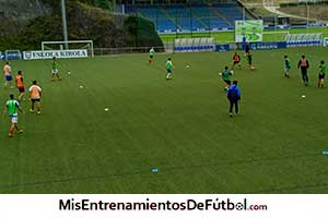 ejercicios de fútbol