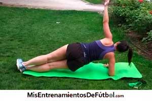 ejercicio para trabajar el core