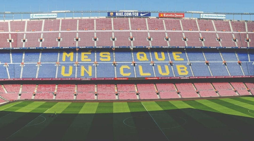 Campo de fútbol del Barça