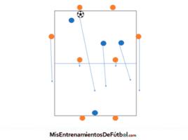 juego de posicion 8x4 en 2 espacios