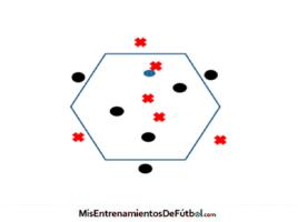 rondo 6x6 espacio hexagono