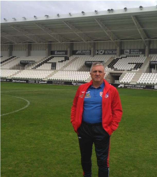 Germán Idoate entrenador de fútbol